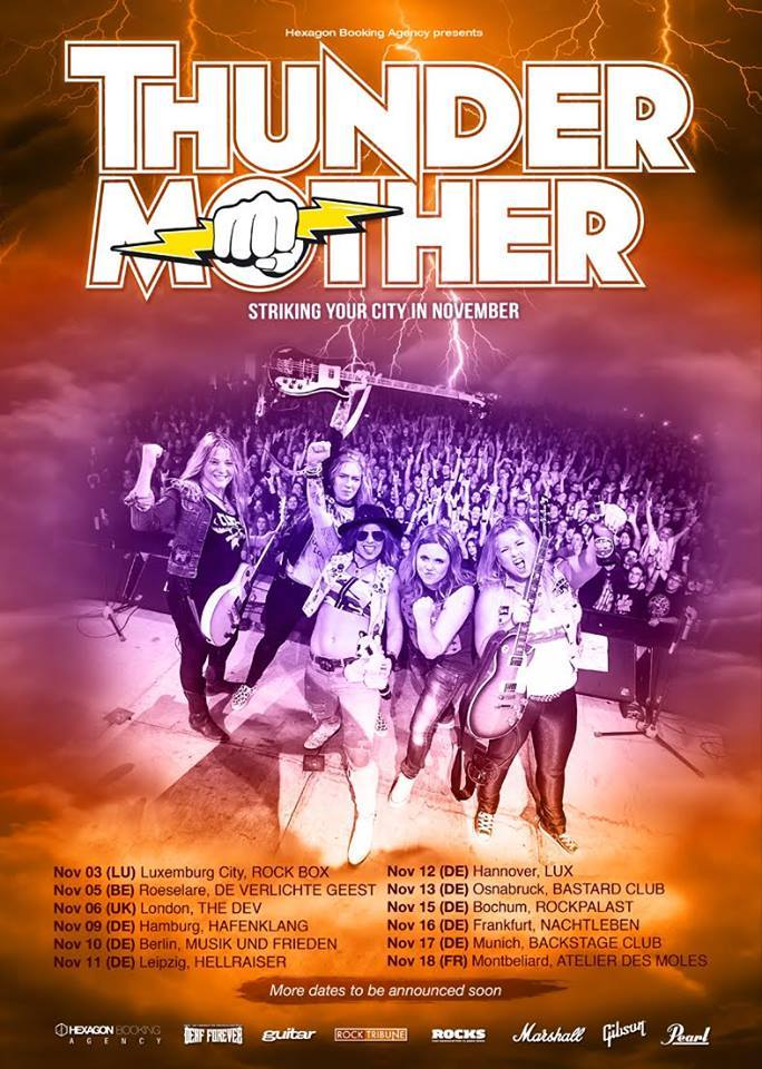 Thundermother_Tour