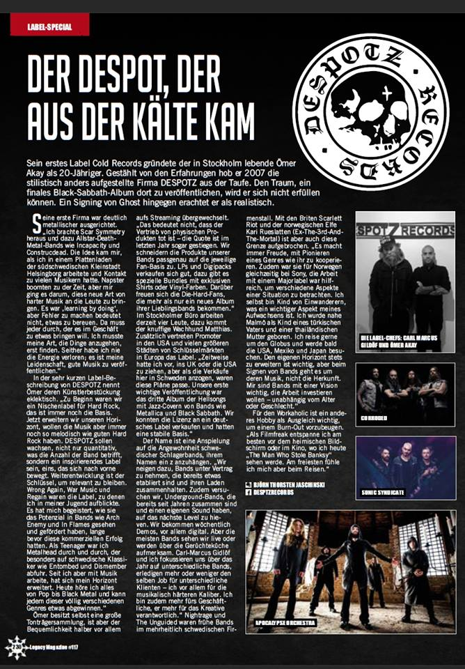 News | Despotz Records